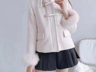 リネンロングコート コート ジャケットの画像