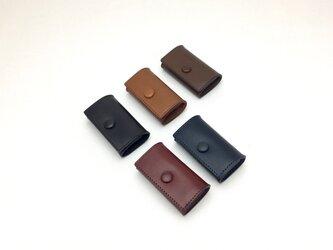 コインケース  button Blackの画像
