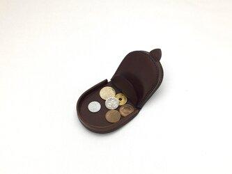コインケース batei Chocolateの画像