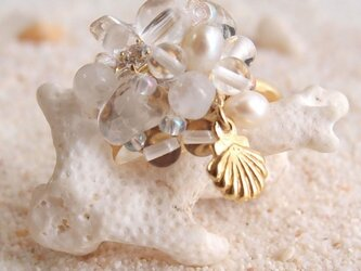 指輪「波の泡つぶ」の画像