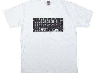 音楽 DJ ミキサー デザインTシャツ ユニセックスS〜XLサイズ Tcollectorの画像