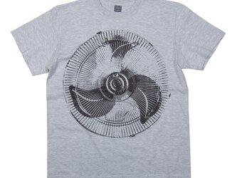 扇風機2デザインTシャツ ユニセックスS〜XXXLサイズ/レディースS〜Lサイズ Tcollectorの画像