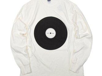 ギフトに。音楽 DJ LP レコード (Long Play Record)アナログ ロンT ユニセックスS〜XLサイズの画像