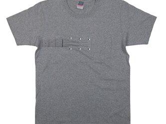 音楽 ギター ヘヴィーウェイト ポケット Tシャツ 楽器 ユニセックスS〜XLサイズ Tcollectorの画像