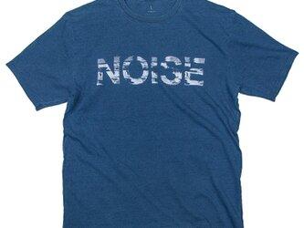 音楽 NOISE 音のノイズ インディゴ Tシャツ ユニセックスS〜XLサイズ Tcollectorの画像