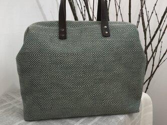 Boston bag  L size [Växbo Lin]モスグリーンの画像