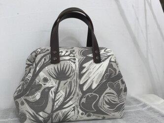 Boston bag  S size [Doveflight]の画像