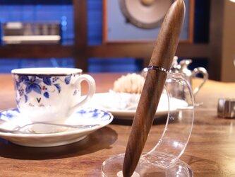 木軸万年筆 ◆ 神代欅(ケヤキ) ◆ 14K ◆ バランス型 ◆ 太軸 ◆ Japanese zelkovaの画像