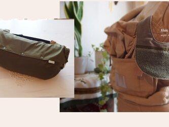 抱っこ紐収納カバー みうく(スタイ型ハンカチ)セットの画像