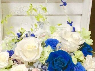 白い宝箱 サムシングブルーの画像