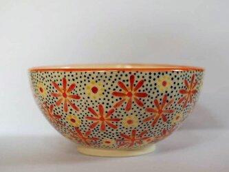 花柄のお茶碗の画像
