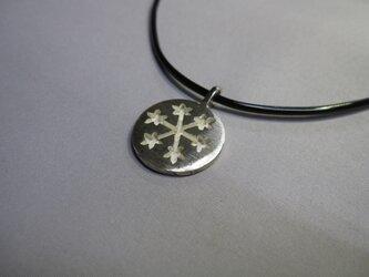 SVペンダント「雪の結晶」の画像