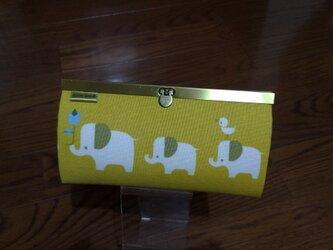 長財布(ぞうさん 黄色)の画像
