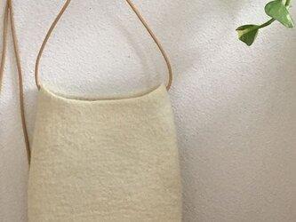 「B様・オーダー品」羊毛フェルトポシェットの画像
