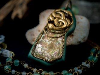 【聖蛇の遣い】ローマングラス×タモ/N439-5の画像