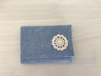 ポケットティッシュケース*水色の画像