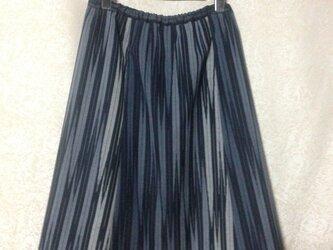 ウール着物地スカートの画像