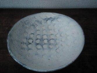 刷毛目 鳥皿(取皿)の画像