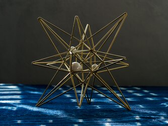 【真鍮製】BLASS HIMMELI - ベツレヘムの星 - 陶球の画像