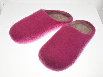 ルームシューズ ピンク Sの画像