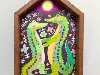 色鉛筆作品「キミとダンス」の画像