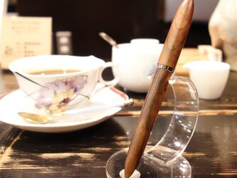 木軸万年筆 ◆ 神代欅(ケヤキ) ◆ 14K ◆ バランス型 ◆ Japanese zelkovaの画像