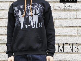《Men's》スウェットパーカー【BLACK】の画像