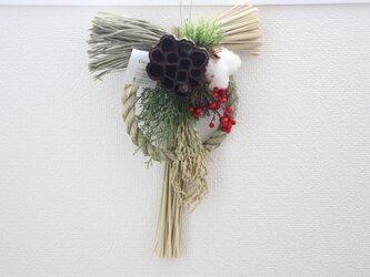 お正月しめ縄の画像