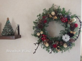 Happy Christmas Wreath 9の画像