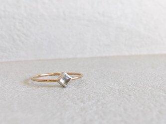 1stone ring -blue-の画像