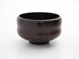 溜塗炭砥跡抹茶椀の画像