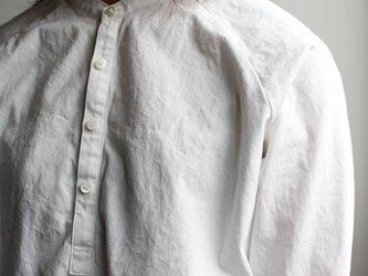 weather cloth shirt/whiteの画像