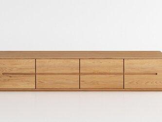 オーダーメイド 職人手作り テレビ台 ローボード テレビボード 北欧家具 おうち時間 無垢材 天然木 木工 LR2018の画像