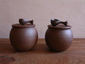 塩壺 (スプーン付)の画像