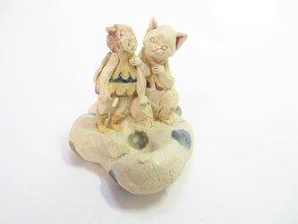 ネコと天使 -シロ-の画像
