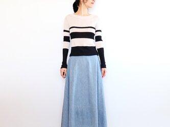◆即納◆Crux[クルックス] ラウンドネック・セーター / ブルー系1 / Mサイズの画像