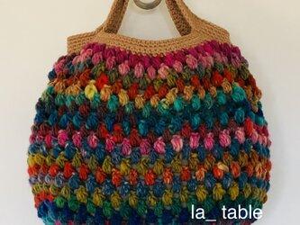 ミルフィオリのバッグ「百花」の画像