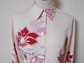 着物ブラウス Kimono Blouse LS-226/Mの画像