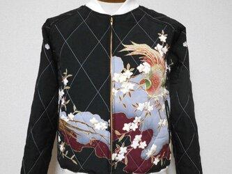 キルティング着物スカジャン  Quilted Kimono Sukajan  SK-201/Mの画像