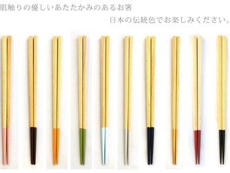 【選べる10色】能登ヒバ いろいろ箸【木のお箸】【山中塗り】【国産】の画像