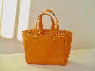 イタリア革のミニミニバッグ 「ナポリ」(黄色)の画像