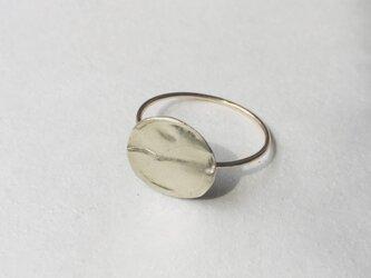 満月のようなcircle ring  Lの画像
