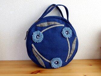 花を巡らせて(ブルー)の画像