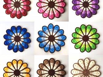 花の円座【受注製作】の画像