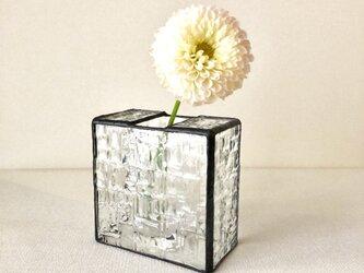 *再販*花瓶・géométrique(クリア)の画像
