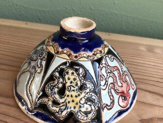 蛸の飯碗の画像