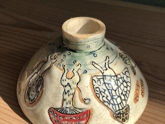 キノコDANCE飯碗の画像