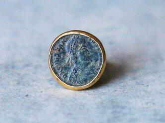 古代スタイル*古代ローマン・コイン 指輪*9号 SV ユニセックスの画像