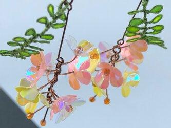 ハワイの植物ピアス * Niu * Garden009の画像