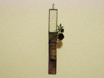 陶とガラスの短冊の画像